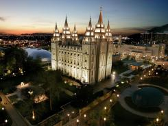 Tourism destination:  The vast Mormon Temple hosts 5 million visitors a year, but few Americans truly understand the practices of the church's followers.
