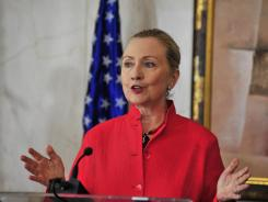 Hillary Clinton, head of the State Department, which recommended Wednesday against the deadline for Keystone.