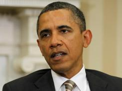 President Obama did not send a letter to Iran for direct talks, the White House said.