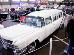 This 1964 Cadillac hearse took John F. Kennedy's casket and First Lady Jacqueline Kennedy from Parkland Memorial Hospital to Dallas Love Field and Air Force One.