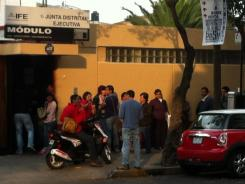 Mexicans recently flocked to modules run by the country's electoral institute in order to renew voter credentials.