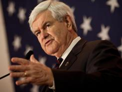 "Gingrich: Vows to ""rebuild the America we love."""