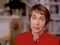 Rep. Gabrielle Giffords announces in a video Sunday her plans to resign from Congress.
