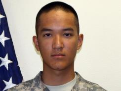 Pvt. Danny Chen died Oct. 3, 2011, in Kandahar, Afghanistan.