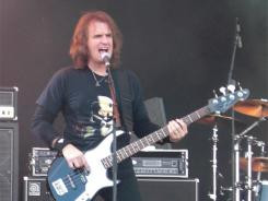 Megadeth co-founder David Ellefson is attending distance-learning classes at Concordia Seminary in pursuit of ordination in the Lutheran Church-Missouri Synod.