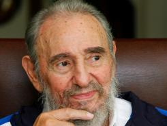 Former Cuban President Fidel Castro berates Republican presidential candidates in a column published Wednesday.