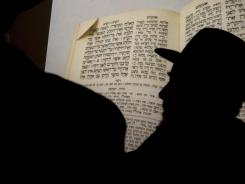Jewish Holocaust survivors hold a weekly meeting and Torah class in Jerusalem.