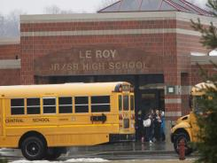 Activist Erin Brockovich said she planned to send a representative to Le Roy, N.Y., to collect soil samples. She had been asked to help investigate students' mystery illness.