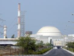 Nuclear power: This power plant is in the southern Iranian city of Bushehr. A United Nations nuclear inspection team arrived in Tehran early Sunday.