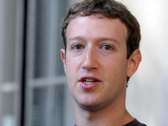 Zuckerberg: Facebook founder.
