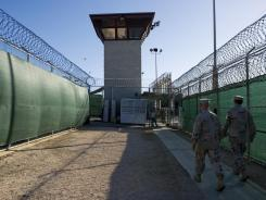 U.S. officials may transfer some Taliban prisoners from the prison at Guantanamo Bay, Cuba, as an incentive to peace talks.