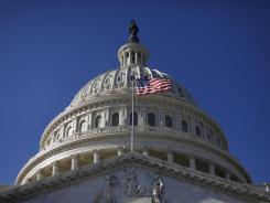 A bill that would freeze the wages of federal workers and bar members of Congress from giving themselves a pay raise moved through the U.S. House on Wednesday.