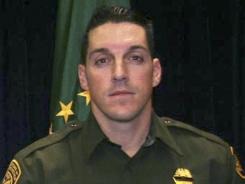 U.S. Border Patrol agent Brian A. Terry was fatally shot north of the Arizona-Mexico border while trying to catch bandits.