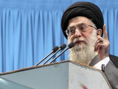 Ayatollah Ali Khamenei again threatened Israel and warned nations against attacking his country's nuclear facilities.