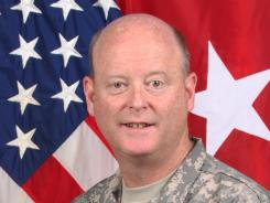 Brig. Gen. Terence Hildner, 49, died Friday in Kabul, Afghanistan, of apparent natural causes.