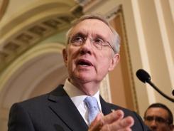 """Reid: Democrat says he will prepare a """"fallback plan."""""""