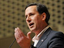 "Rick Santorum predicts the front-runner will ""underperform"" in Centennial State."