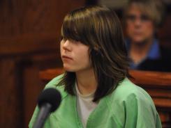 Alyssa Bustamante in Cole County Circuit Court in Jefferson City, Mo., Dec. 8, 2009.