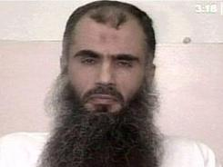 Cleric Abu Qatada, shown making a televised appeal from Belmarsh high security prison, is described by some as one of Europe's leading al-Qaeda operatives.