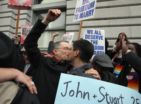 Proposition 8 Declared Unconstitutional Cheers Gay Marriage Supporters
