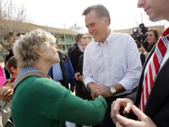 Mitt Romney's fiscal proposal would raise the Social Security retirement age, slow the rate at which benefits grow, or both. But that's not what he says on the campaign trail.