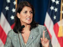 "Gov. Nikki Haley said in her State of the State speech, ""We need to shut down the General Assembly's own retirement system."""