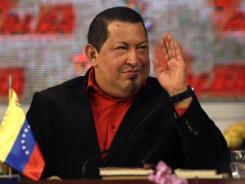 Venezuelan President Hugo Chavez attends a summit of the Bolivarian Alliance on Feb. 4 in Caracas.