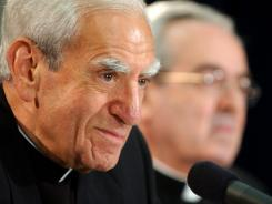 Cardinal Anthony J. Bevilacqua, at a 2003 news conference, died Jan. 31 in Wynnewood, Pa.