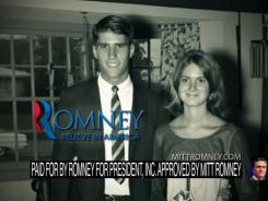 A screen grab from Mitt Romney's latest ad highlights his Michigan roots ahead of the state's primary.