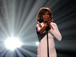 American Music Awards: Whitney Houston performs in Los Angeles in November 2009.