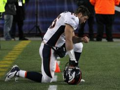 Denver Bronco's quarterback Tim Tebow, known for publicly expressing his Christian faith, is one of the most recognizable evangelicals, but the term is not easily defined.