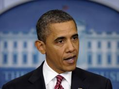 President Obama announces the compromise on his administration's contraception mandate last week.