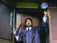 Majid Khan is seen in 1999 during his senior year in high school in Baltimore. Khan is now held at Guantanamo Bay, Cuba.
