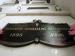 The final resting place of legendary actor Rudolph Valentino, who died in 1926, is Hollywood Forever Cemetery in Los Angeles.