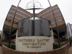 The Southern Baptist Convention, whose Nashville headquarters are pictured here, considered a name change.