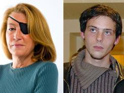 American journalist Marie Colvin, left, and freelance French photojournalist Remi Ochlik were killed by shellfire Wednesday in the city of Homs.