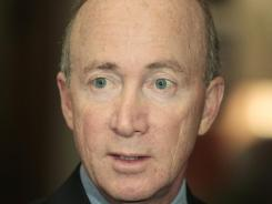 Gov. Mitch Daniels is named in the lawsuit filed by the International Union of Operating Engineers Local 150.