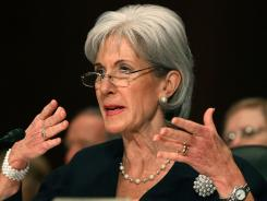 Health and Human Services Secretary Kathleen Sebelius said her department's budget included an additional $300 million to take on health care fraud.