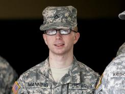 Army Pfc. Bradley Manning deferred his plea to charges he gave an anti-secrecy website more than 700,000 documents and video clips.