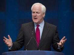 Texas Sen. John Cornyn chairs the National Republican Senatorial Committee.