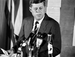 Kennedy: The first Roman Catholic president of the USA.
