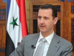Assad:  The U.N. said the death toll in the 11-month Syrian uprising against the president was far more than 7,500.