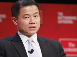 In this Oct. 26, 2010, file photo, New York City Comptroller John Liu speaks at the Buttonwood Gathering in New York.