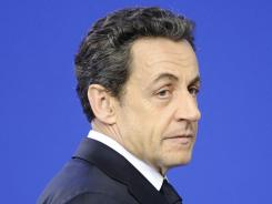 French President Nicolas Sarkozy is seeking re-election, but he is lagging in polls.
