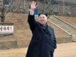 Kim Jong Un is shown in this undated photo released Monday by North Korea's official Korean Central News Agency.
