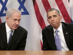 At the U.N.:  President Obama meets with Israeli leader Benjamin Netanyahu in September. Netanyahu is visiting the White House today.
