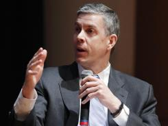 Education Secretary Arne Duncan said he hoped a report would be an eye-opener on how some schools inconsistently handle discipline.