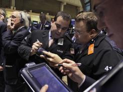 The New York Stock Exchange on Thursday.