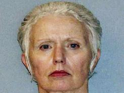 """Catherine Greig, the longtime girlfriend of reputed Boston mobster James """"Whitey"""" Bulger."""