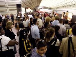 More commuters are turning to public transportation as gas prices surge.